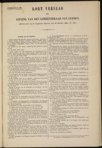 Handelingen van de Raad 1855-10-11