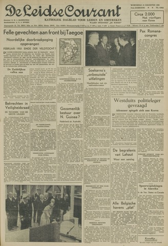 Leidse Courant 1950-08-23