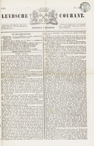 Leydse Courant 1865-12-06