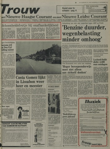 Nieuwe Leidsche Courant 1975-11-27