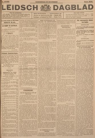 Leidsch Dagblad 1926-11-18
