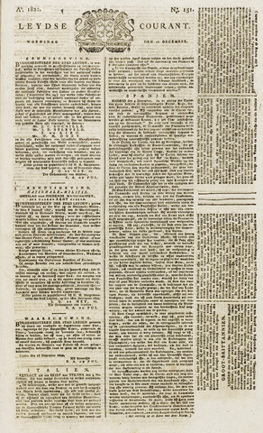 Leydse Courant 1822-12-18