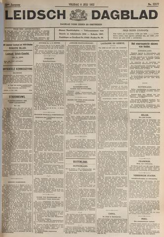 Leidsch Dagblad 1932-07-08