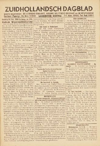 Zuidhollandsch Dagblad 1944-10-24