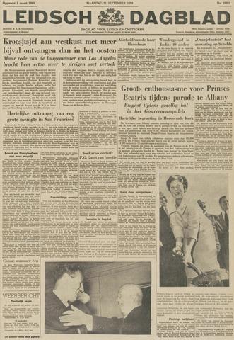 Leidsch Dagblad 1959-09-21