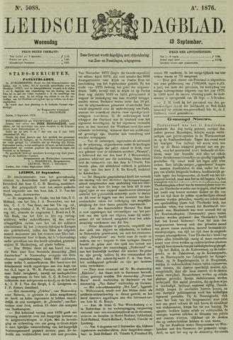 Leidsch Dagblad 1876-09-13