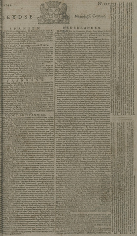 Leydse Courant 1749-09-29