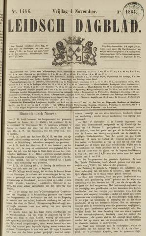 Leidsch Dagblad 1864-11-04