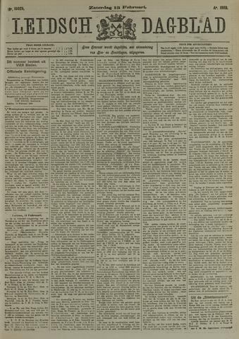 Leidsch Dagblad 1909-02-13