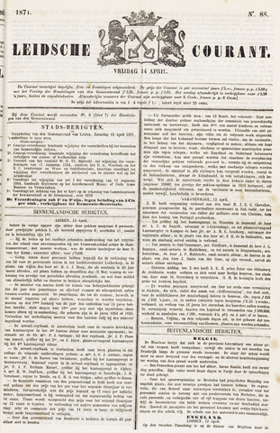 Leydse Courant 1871-04-14