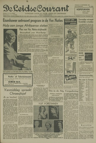 Leidse Courant 1960-09-23