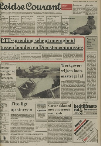 Leidse Courant 1980-02-14