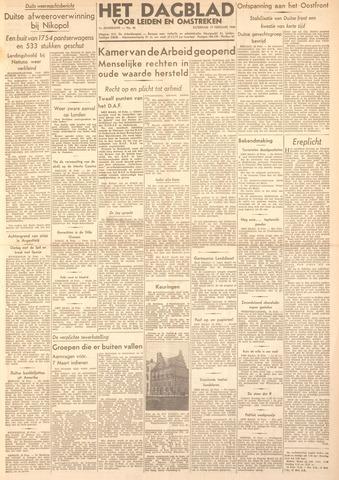 Dagblad voor Leiden en Omstreken 1944-02-19