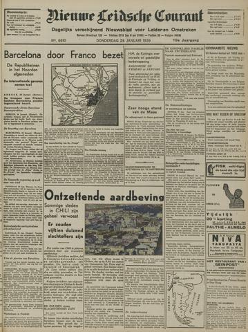 Nieuwe Leidsche Courant 1939-01-26