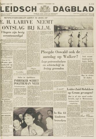 Leidsch Dagblad 1963-12-07