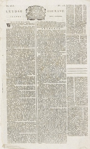 Leydse Courant 1818-10-02