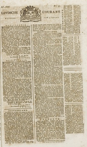 Leydse Courant 1826-03-27