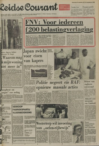 Leidse Courant 1977-09-29