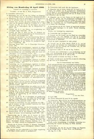 Handelingen van de Raad 1900-04-19