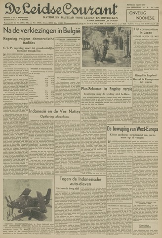 Leidse Courant 1950-06-06