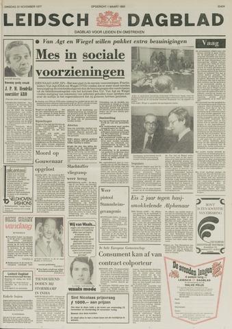 Leidsch Dagblad 1977-11-22