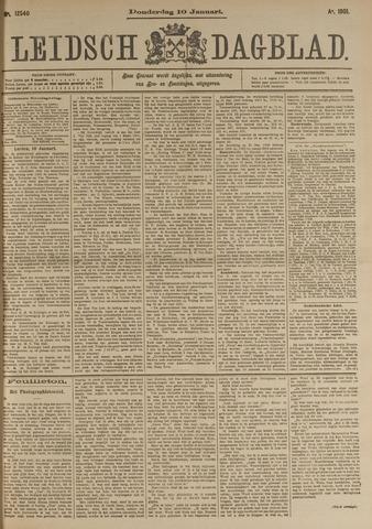 Leidsch Dagblad 1901-01-10