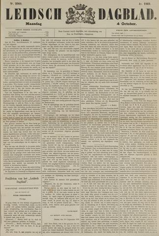 Leidsch Dagblad 1869-10-04