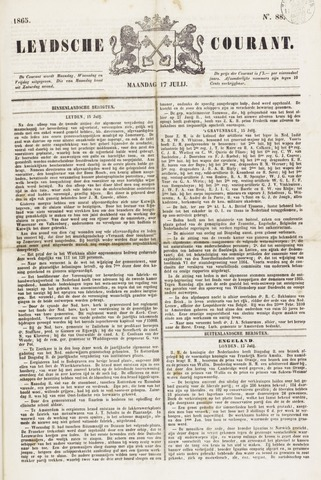 Leydse Courant 1865-07-17
