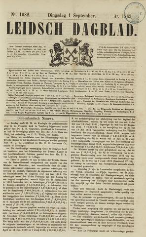 Leidsch Dagblad 1863-09-01