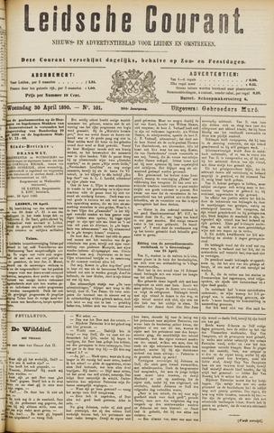 Leydse Courant 1890-04-30