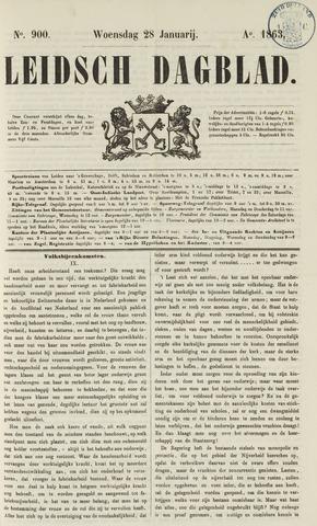 Leidsch Dagblad 1863-01-28