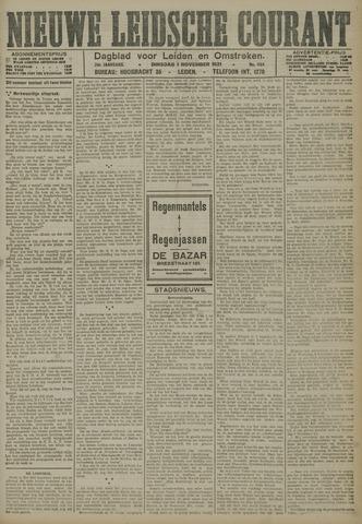 Nieuwe Leidsche Courant 1921-11-01