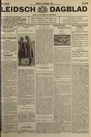 Leidsch Dagblad 1932-03-18