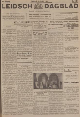 Leidsch Dagblad 1938-03-19