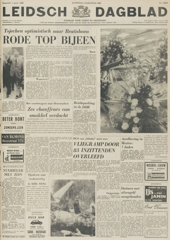 Leidsch Dagblad 1968-08-03