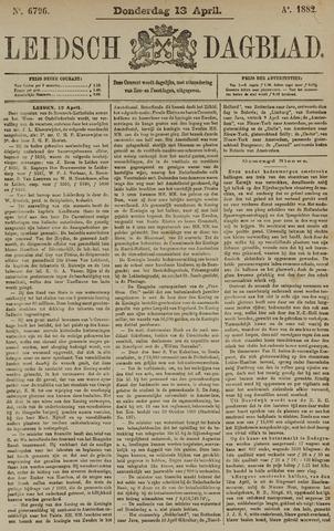 Leidsch Dagblad 1882-04-13
