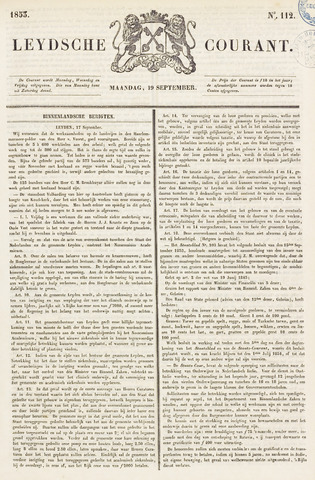 Leydse Courant 1853-09-19