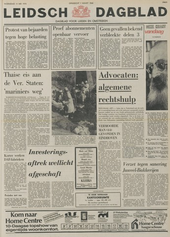 Leidsch Dagblad 1975-05-14