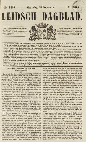 Leidsch Dagblad 1864-11-28