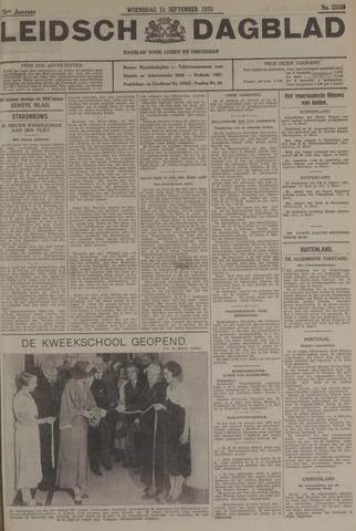 Leidsch Dagblad 1935-09-11