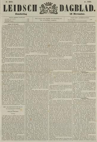 Leidsch Dagblad 1869-11-18
