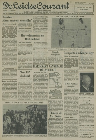 Leidse Courant 1961-06-27