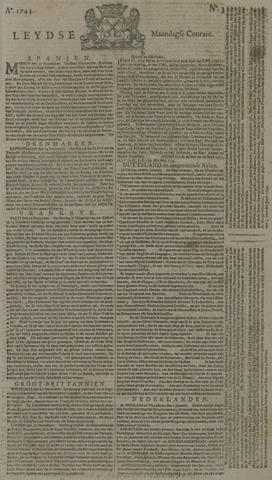 Leydse Courant 1744-01-06
