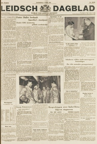 Leidsch Dagblad 1954-06-05