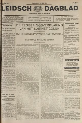 Leidsch Dagblad 1933-05-31