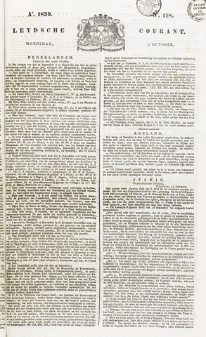 Leydse Courant 1839-10-02