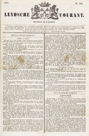 Leydse Courant 1869-08-16