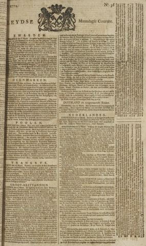 Leydse Courant 1772-03-23