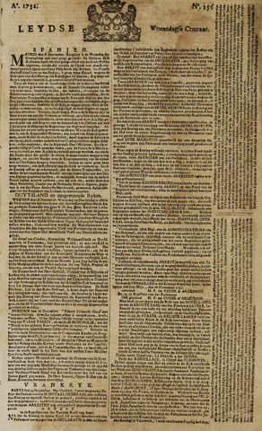 Leydse Courant 1751-12-29