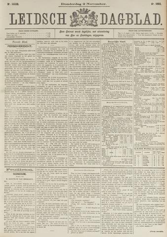 Leidsch Dagblad 1893-11-02